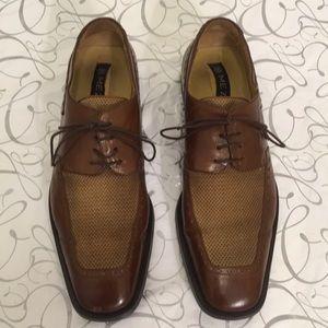 MEZLAN   Cogtop Leather Oxfords 9.5